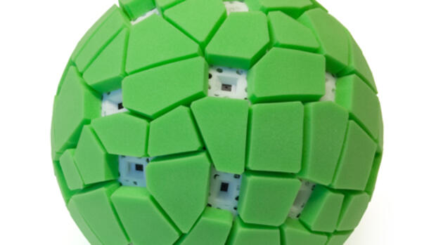 Die Throwable Panoramic Ball Kamera Quelle: Jonas Pfeil