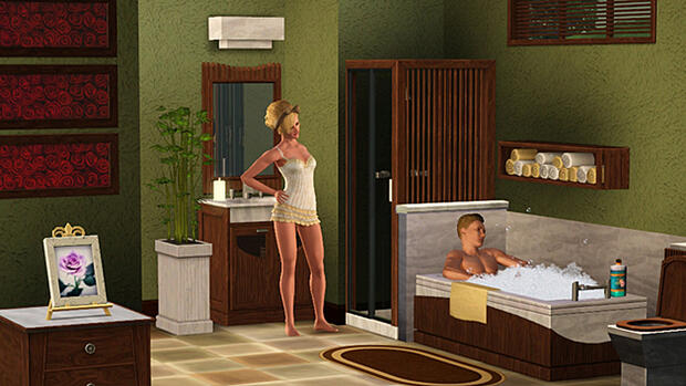 Screenshot Die Sims 3 – Traumsuite Accessoires Quelle: screenshot