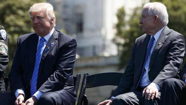 Comey-Affäre: Neue Vorwürfe gegen Trump
