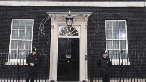 Downing Street Nr. 10: In Quelle: REUTERS