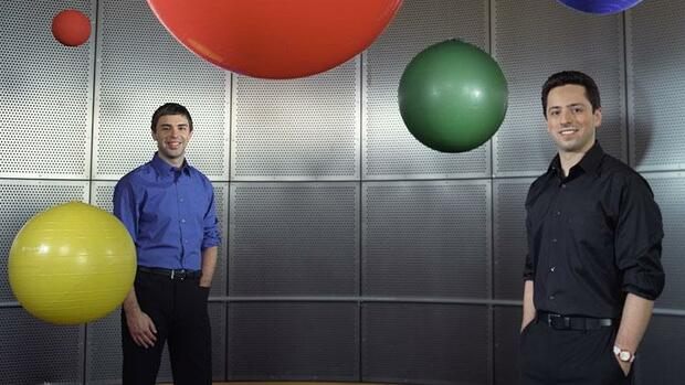 Larry Page und Sergey Brin Quelle: DPA/Picture-Alliance