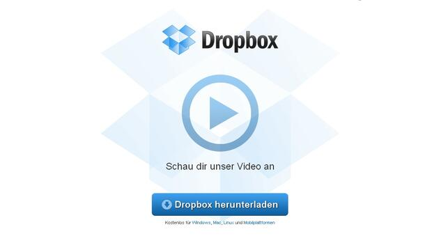 Dropbox will 2018 an die Börse Quelle: Screenshot
