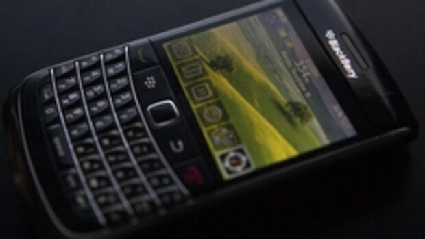 Egal ob Blackberry oder Quelle: REUTERS