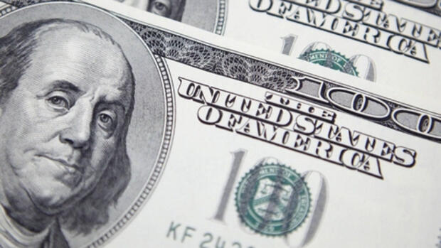 Einhundert Dollar Note Quelle: REUTERS