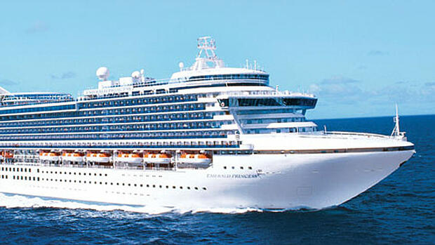 Emerald Princess Quelle: Pressebild