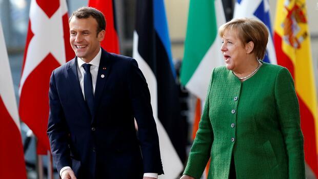 Merkel und Macron wollen sich bis Juni auf EU-Reformen einigen