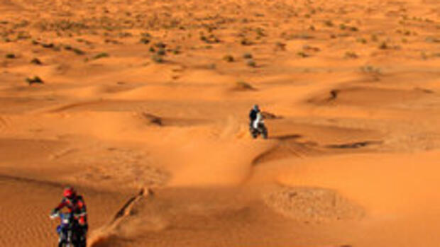 Enduro-Tour durch die Sahara Quelle: laif