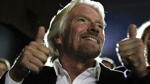Richard Branson Quelle: REUTERS