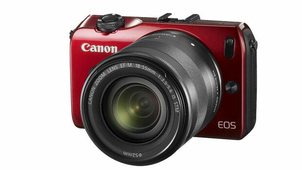 EOS M Red Quelle: Presse