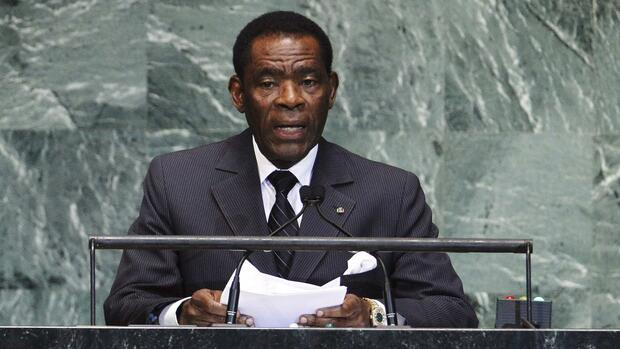 Teodoro Obiang Quelle: REUTERS