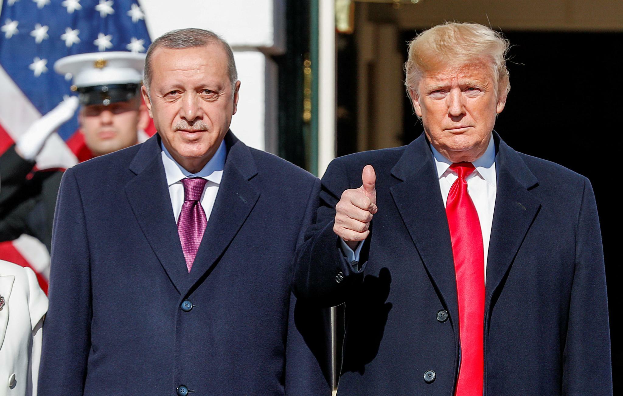 """Krise zwischen USA und Türkei: Erdogan bei Trump: """"Wir sind sehr gute Freunde"""""""
