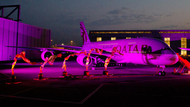 Qatar Airways Quelle: dpa