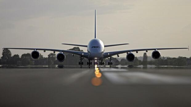 Airbus A380 der Air France Quelle: dpa