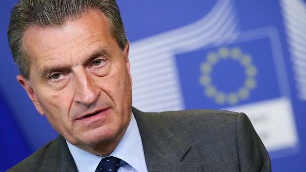 Oettinger: Briten müssen auch nach Austritt EU-Beiträge zahlen