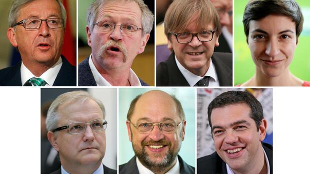 Europawahl 2014 - cover