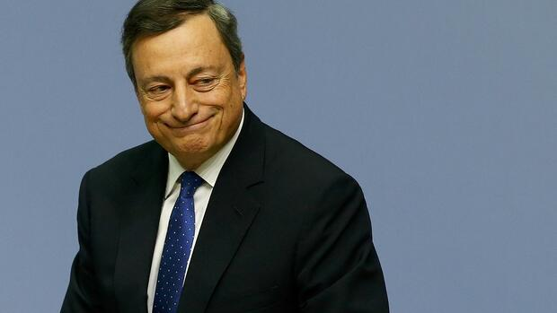 EZB-Chef Mario Draghi. Quelle: REUTERS
