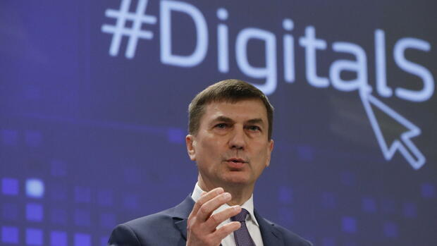 Andrus Ansip Quelle: dpa