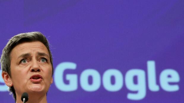 Vestager verhängt neue Milliardenstrafe gegen Google