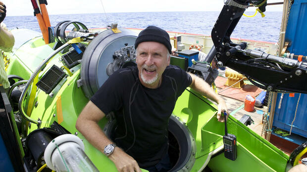 James Cameron Quelle: dapd