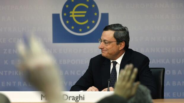 EZB-Chef Draghi Quelle: REUTERS