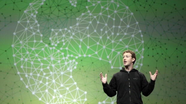 Facebook-Chef Mark Zuckerberg Quelle: AP
