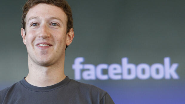 Facebook-Chef Mark Zuckerberg Quelle: dapd