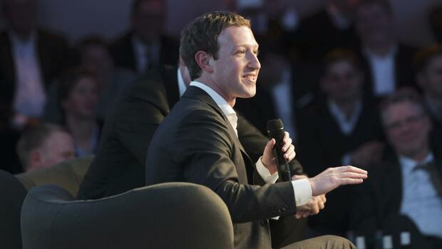 Mark Zuckerberg, Facebook-Chef Quelle: REUTERS