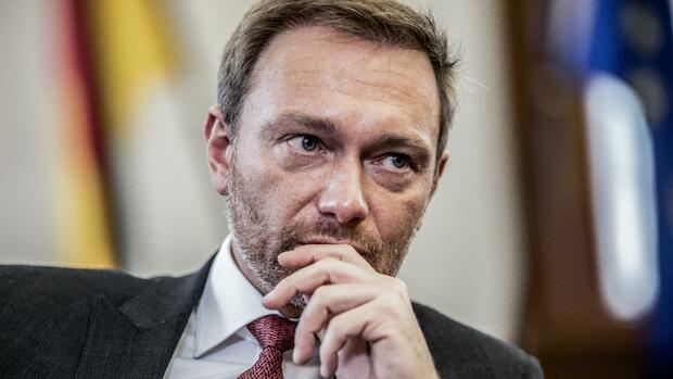Christian Lindner Quelle: dpa