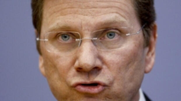 Guido Westerwelle Quelle: REUTERS