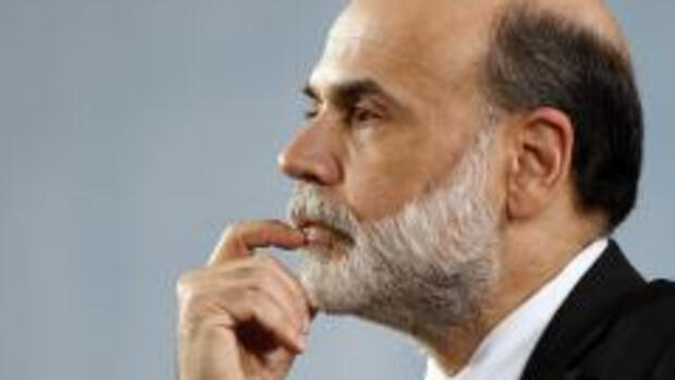 Fed-Chef Ben Bernanke als Quelle: REUTERS