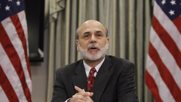 Fed-Chef Bernanke: Ankäufe Quelle: REUTERS