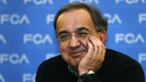 FCA-Chef Marchionne. Quelle: REUTERS