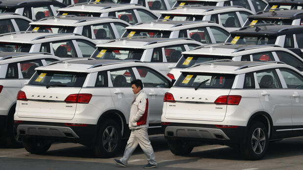 SUV-Modelle in China Quelle: AP
