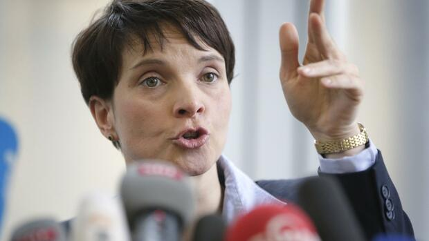 Frauke Petry, AfD Quelle: AP