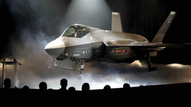 Lockheed Martin F-35 Joint Strike Fighter Quelle: AP