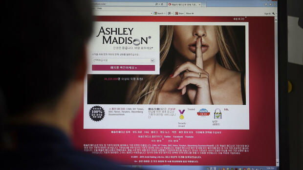 Ashley Madison Quelle: AP