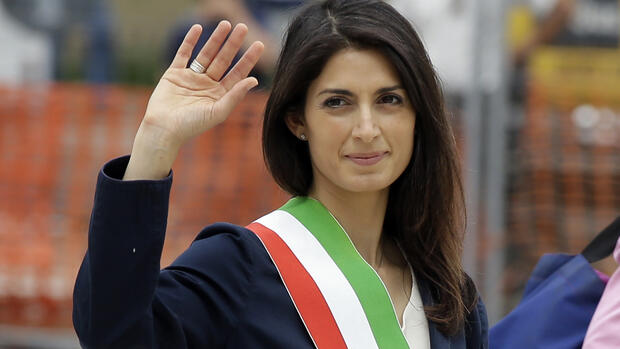 Virginia Raggi Quelle: AP