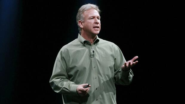 Phil Schiller, Vize-Marketing-Chef bei Apple attaktiert Google Betriebssystem Android. Quelle: REUTERS