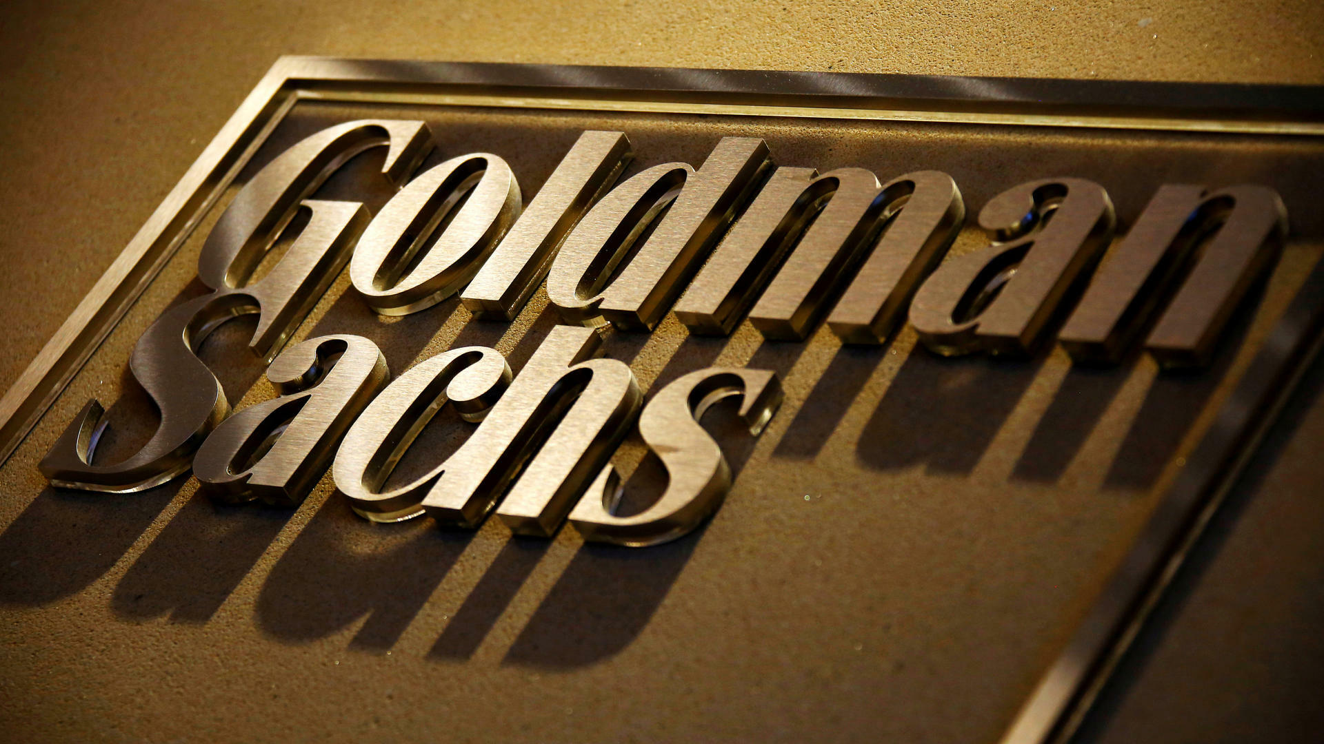 Goldman Sachs Quelle: REUTERS