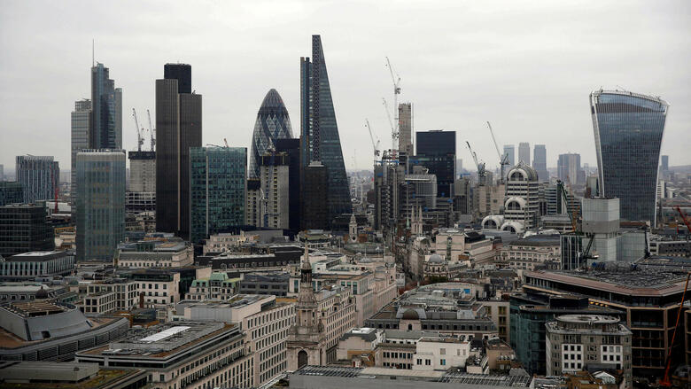 Banken in London Quelle: REUTERS