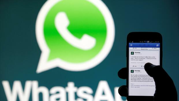 Facebook WhatsApp Quelle: REUTERS