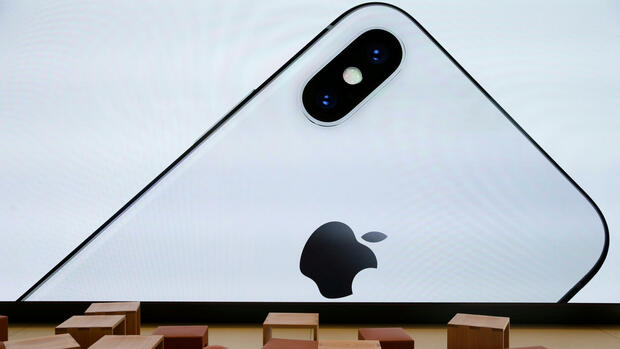 Apple iPhone X Quelle: REUTERS