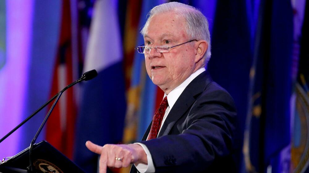 Jeff Sessions, US-Justizminister Quelle: REUTERS