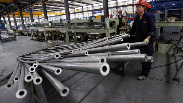 China Aluminium Quelle: REUTERS