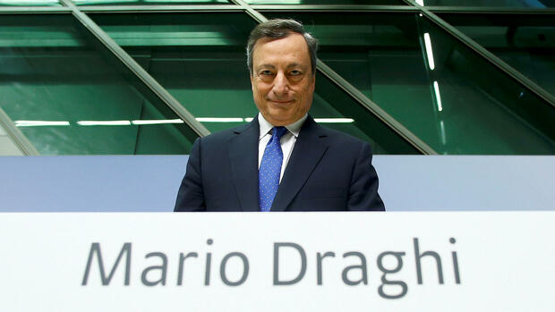 Mario Draghi Quelle: REUTERS