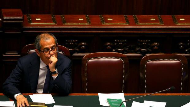 Giovanni Tria Quelle REUTERS