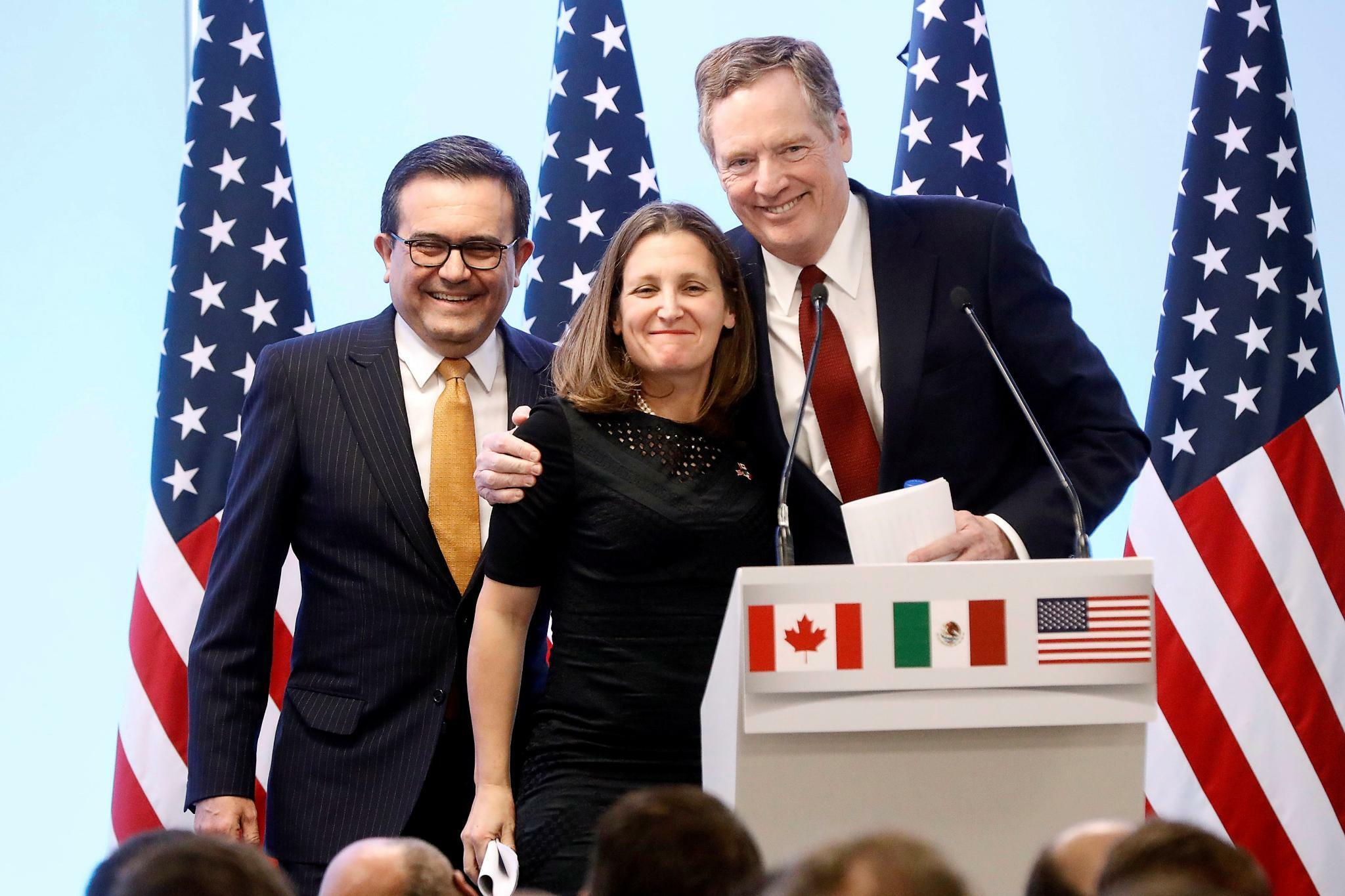 USA und Kanada einigen sich: Handelsabkommen Nafta wird neu aufgelegt