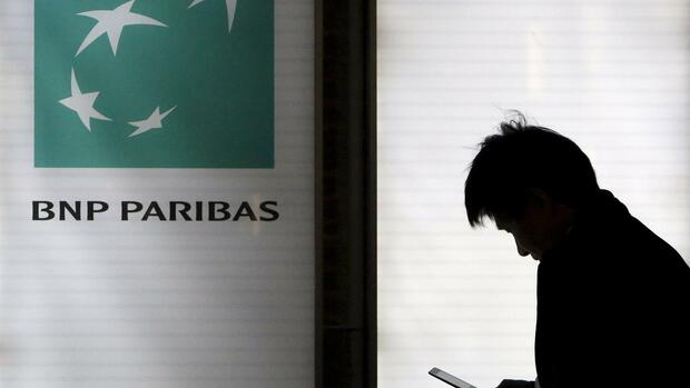Eine BNP Paribas Filiale in Tokio. Quelle: REUTERS