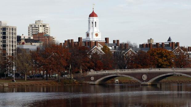 Rang 6: Harvard Universität Quelle: Reuters