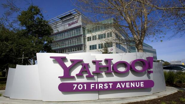 Yahoo-Zentrale in Kalifornien. Quelle: Reuters
